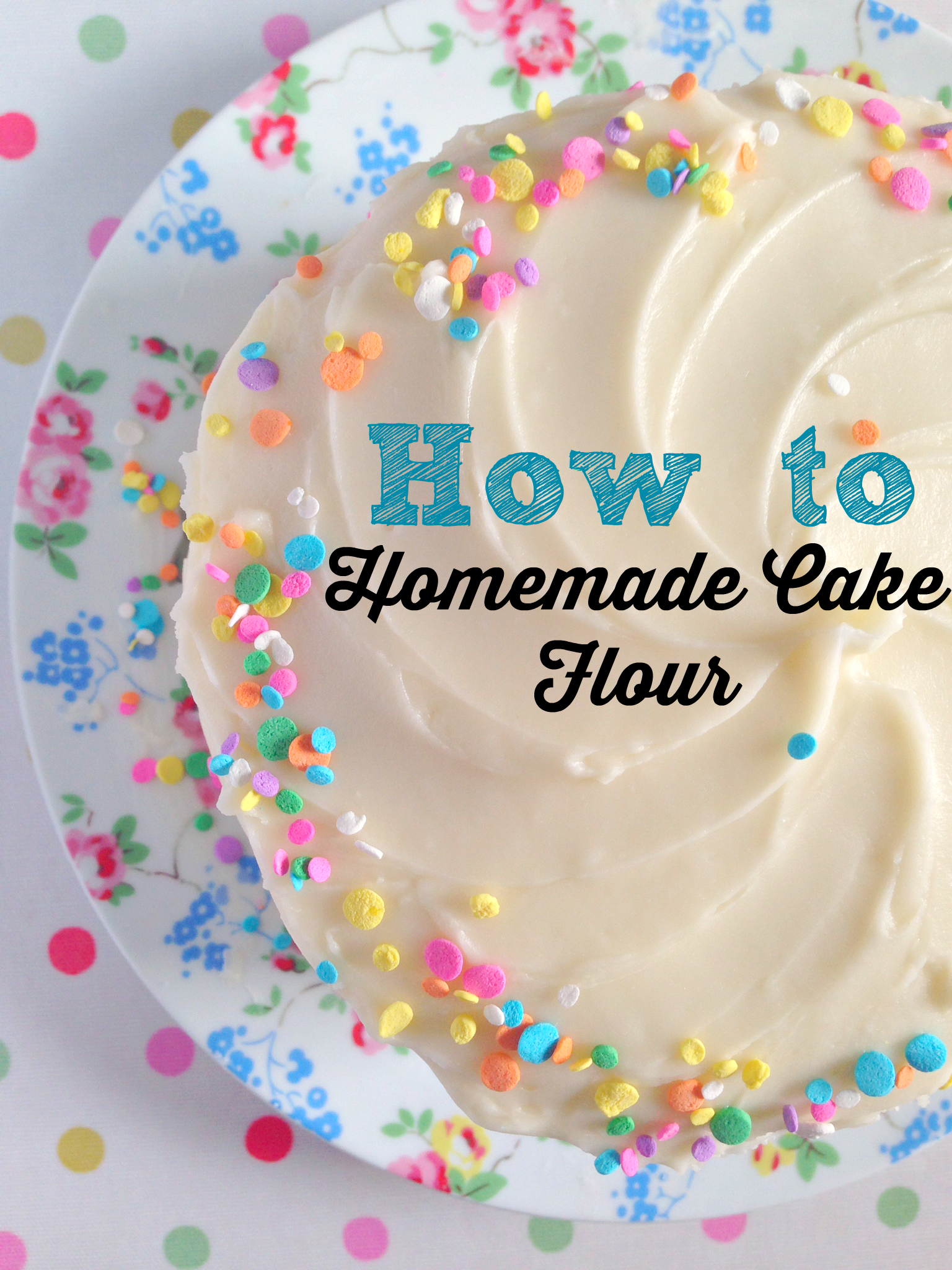 How to make your own Cake Flour - It's SO easy! | kerrycooks.com