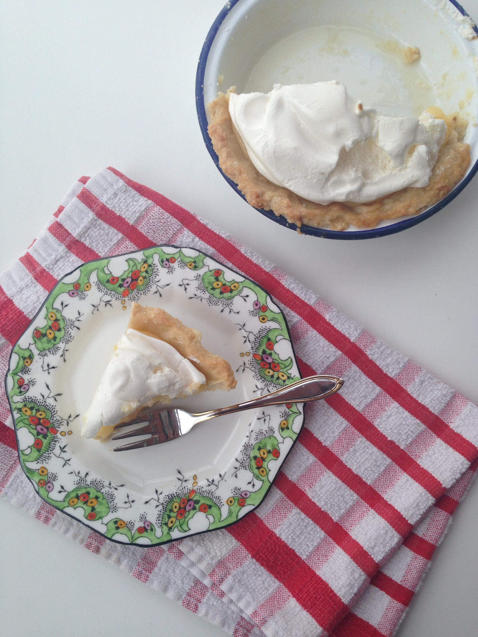 Lemon Meringue Pie - easy recipe at kerrycooks.com