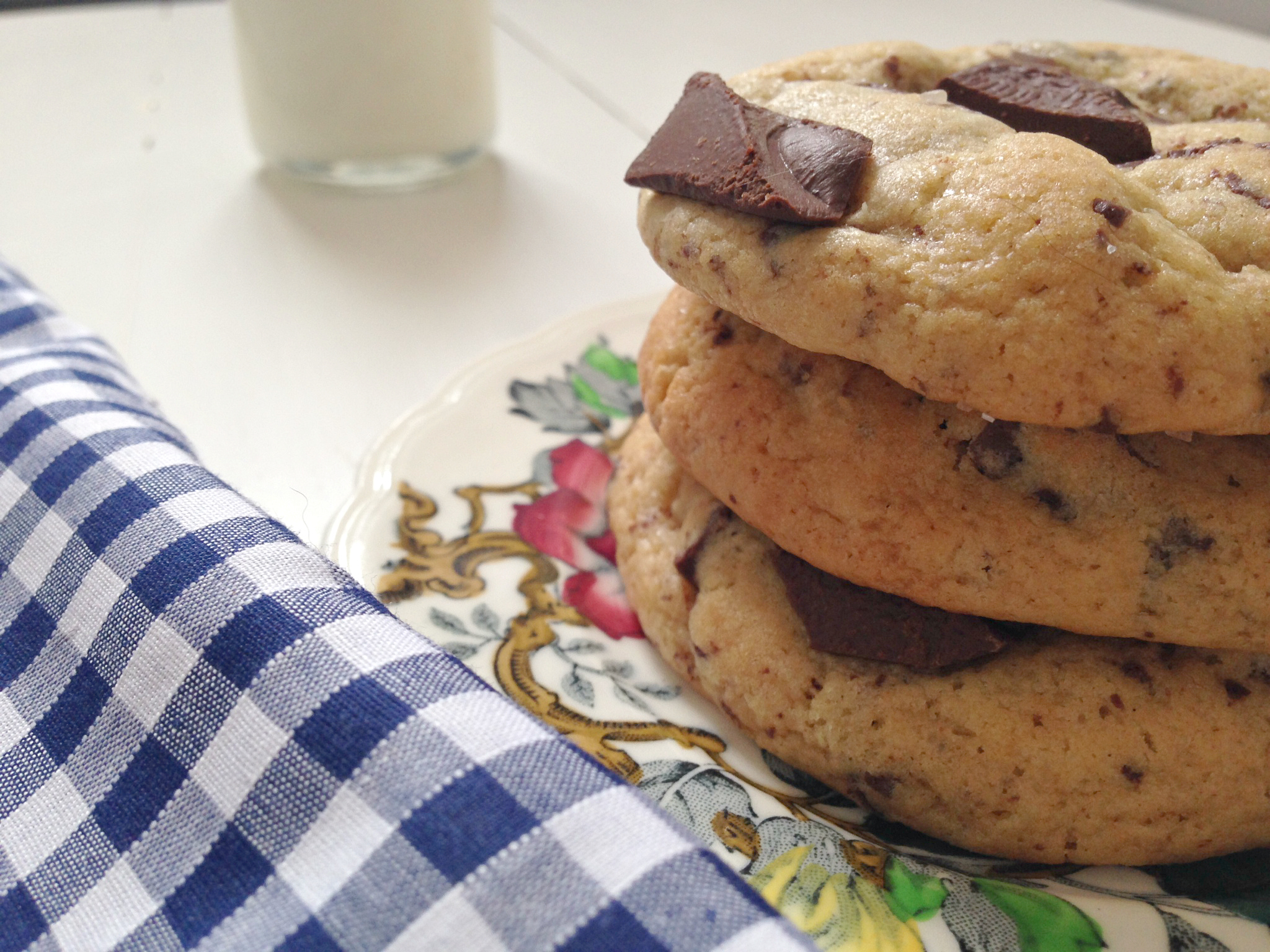 The Perfect Thick and Chewy Chocolate Chip Cookies | kerrycooks.com