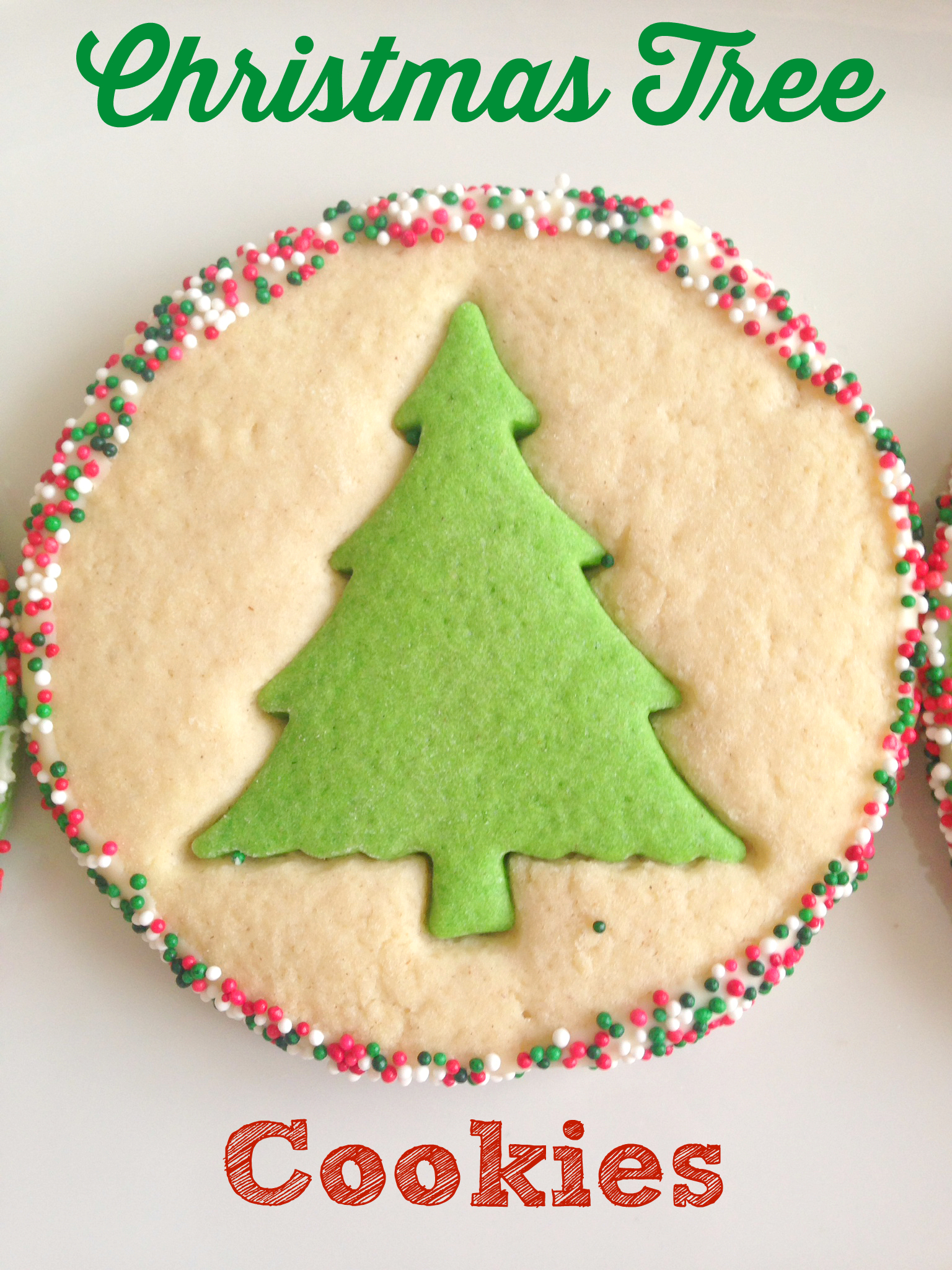 ... Christmas Tree Cookies - so great for baking with kids this Christmas