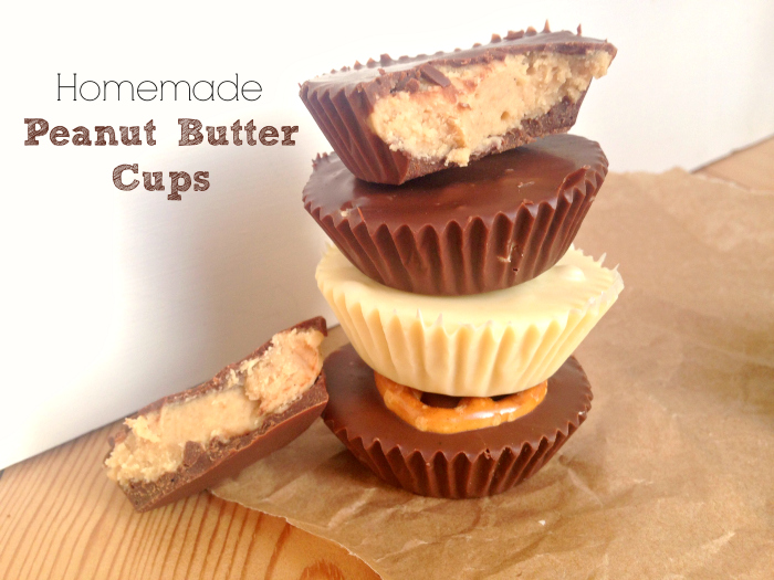 These Homemade Peanut Butter Cups are so easy to make! Customise them ...