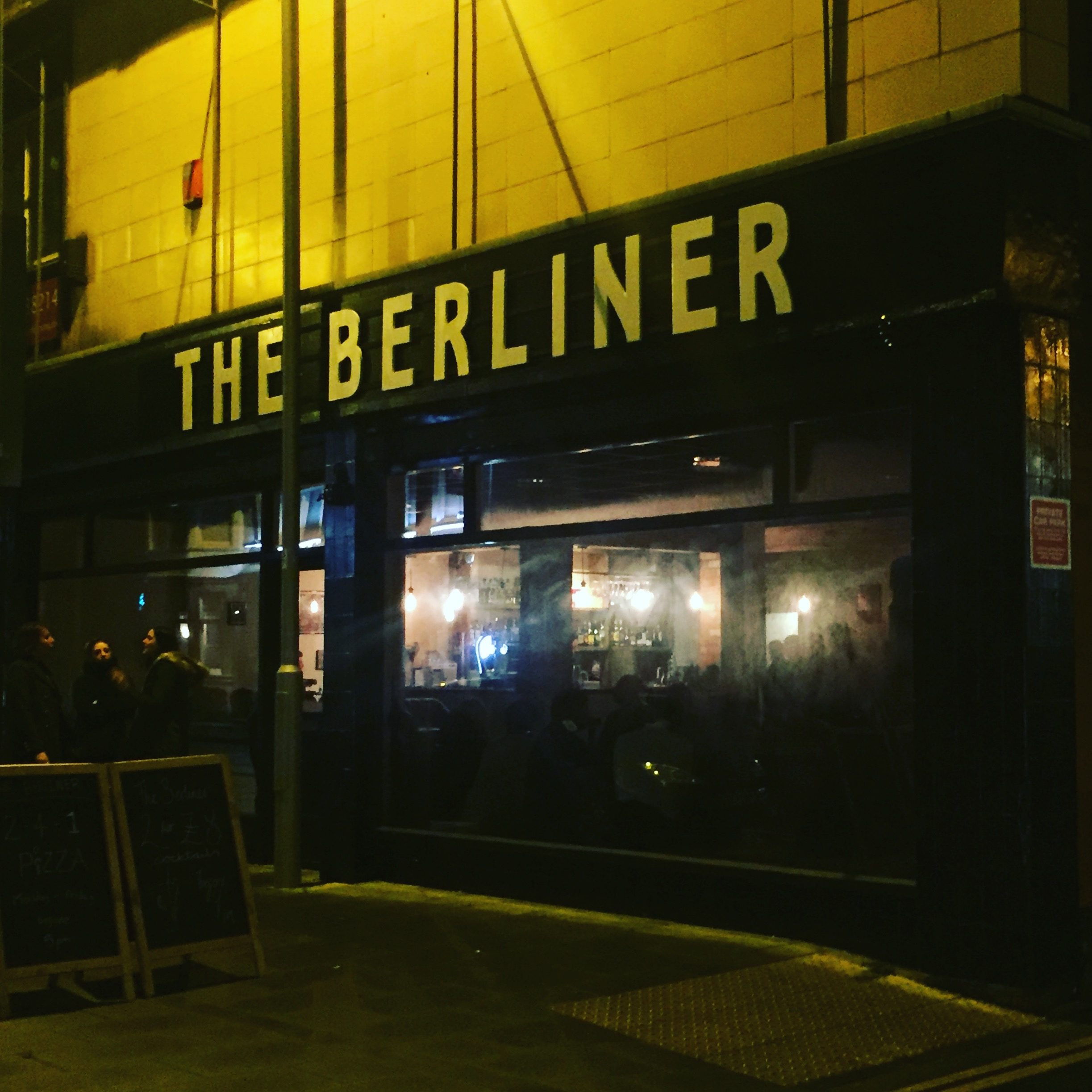 Review the berliner bar beeston nottingham for Food bar beeston